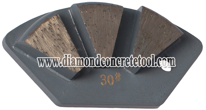 Diamond Metal Bond Segment Concrete Plates