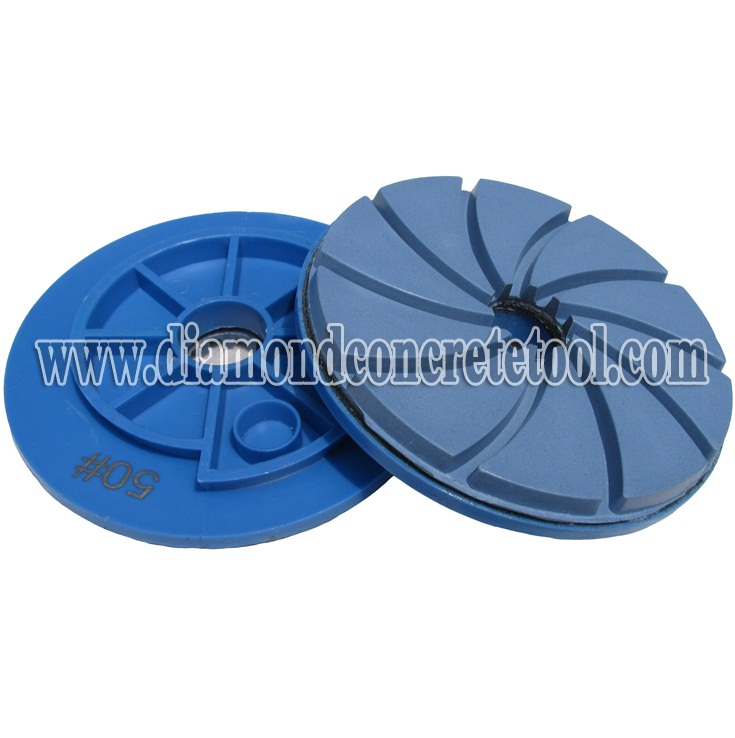 Floor Renovation Polishing Pads With Snail Lock