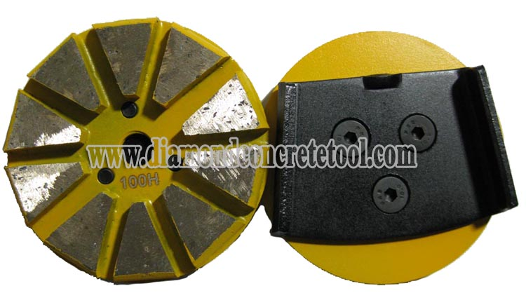 10 Segment Grinding Wheel For HTC