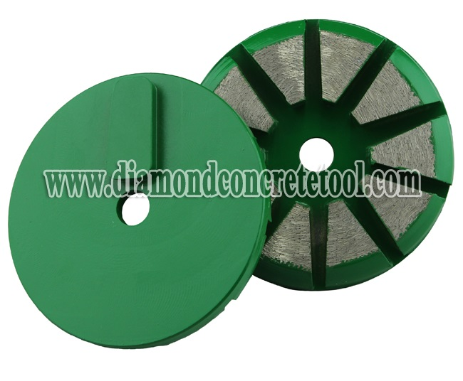 Concrete Grinding Wheel with Husqvarna Redi-lock