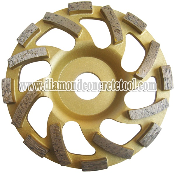 Fan Segment Diamond Cup Wheels
