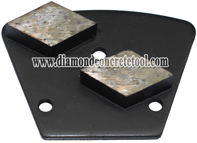 2 Rhombus Segments Diamond Concretet Plates