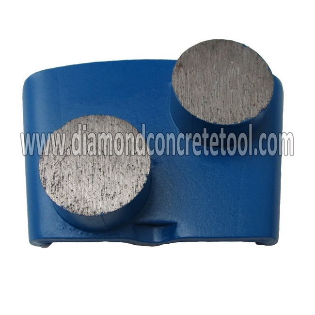 Rounnd Segments Concrete Grinding Plates for HTC EZ Change System