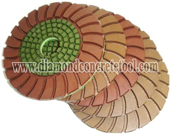 Hand Use for Concrete Polishing Pads