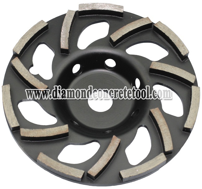 L shape Segment Diamond Cup Wheels