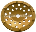 PCD Cup Wheel 1/4 Quarter Segments