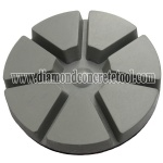 Dry Diamond Resin Pie Floor Polishing Pads