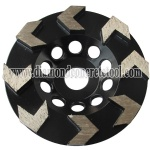 Arrow Segment Diamond Cup Wheels